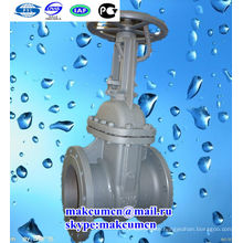 Turkmenistan Z41H-16C russian standard GOST Cuniform PN16 Stainless steel Oil pipeline Gate valve