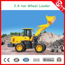 Zl28 hohe Leistungsfähigkeits-2,8 Tonnen-Radlader mit Gabel (2800kg)