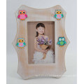 Cute Owl MDF Photo Frame for Baby