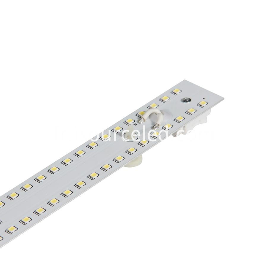Luminous 936.2lm Rectangle Dimming 9W Aluminum Base PCB side picture