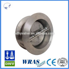 Wafer Type Air Compressor flap Check Valve with spring