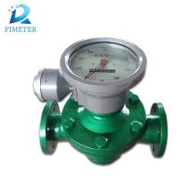 medidor de flujo de combustible diesel caudalímetro de engranaje oval