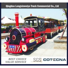 Best Quality Electric Trackless Tourist Train for Sale