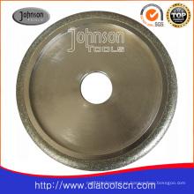 Rueda de diamante de diamante: Od200mm rodillo perfilado de diamante galvanizado para moldeo y rectificado de superficie: Herramienta de diamante
