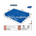single faced heavy duty &4 Ways entry type plastic pallet