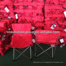 Cadeira sem braço, cadeira de acampamento Auchan, cadeira de praia de acampamento de dobramento