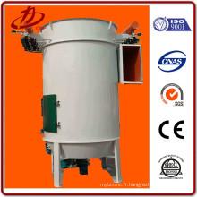 Filtre de sac de collecte de poussière de silo à jet d'impulsion à cyclone cylindrique