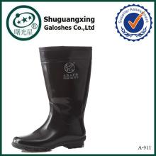 bottes de pluie en caoutchouc pour hommes hommes clair bottes de pluie en pvc