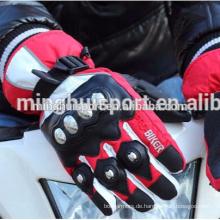 Europäische meistverkaufte billige Motorrad Lederhandschuhe