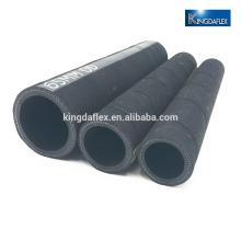 tuyau flexible d'huile d'aspiration de tuyau de caoutchouc de 4 pouces