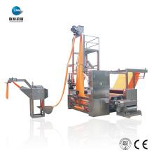 Máquina de cortar e espremer para lavar corda para processo úmido
