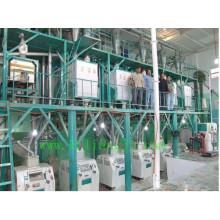 Máquinas de molino de harina de trigo 100tpd