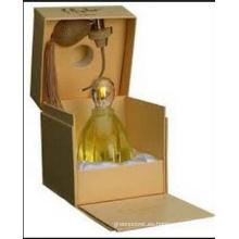 Caja de papel de perfume de diseño especial exquisito de calidad premium