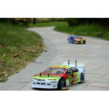 Potente RC 540 Motor 4X4 en carretera de carreras de coches