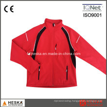 Custom Coat Waterproof Softshell Red Jacket