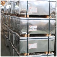 EN 10202 Acero electrolítico estañado de pallet de madera con buena resistencia a la corrosión para Corcho Corcho