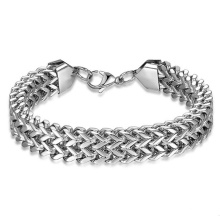 Does Not Fade Men's Bracelet Titanium Steel Personality Rock Stainless Steel Bracelet