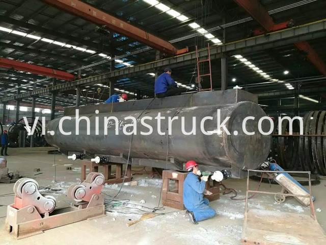 Hydrochloric Acid Tank Trailer custom design