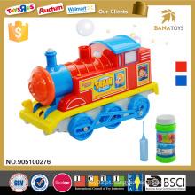 Itens quentes crianças brinquedo passeio o trem grossista b / o trem de brinquedo bolha