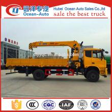 Новое условие Китайский 4x4 грузовик с краном