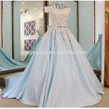 Quinceanera Dresses 2016 CLassic Western style see through satin Ball gown dress patterns quinceanera Dresses WR-010