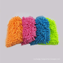 Auto care microfiber wash mitt washing gloves