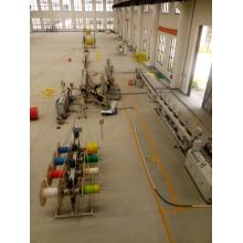 Экструзионная линия для производства гибких шлангов / труб из HDPE Micro Duct