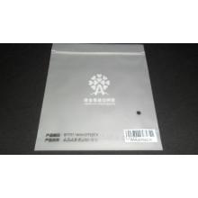 Matten-Plastikbeutel mit Logo und Zipp-Dichtung