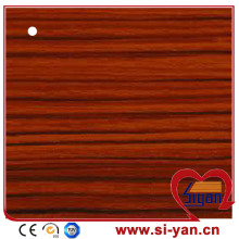 Mdf door pvc film wooden grain vinyl