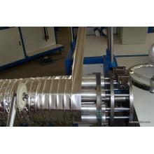 Conduit flexible formant la machine