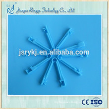 High quality disposable ABS umbilical cord clamp blue color