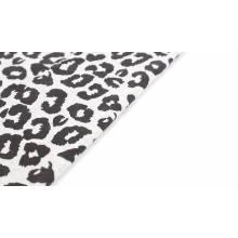 CVC tejido de vellón estampado personalizado cepillado por un lado