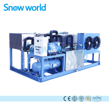 Snow world 1T Block Ice Machines للبيع