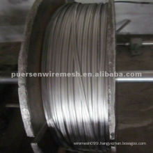 Hot Dipped Galvanized Oval Wire