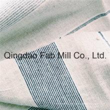 Linho tingido fio / tecido de algodão para Hometextile (QF16-2498)