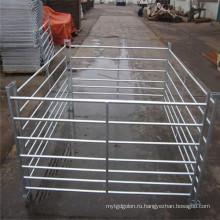 Фабрика OEM оцинкованная скотном дворе ворота и забор для продажи