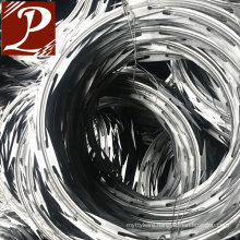 500m or 250m length per roll galvanized barbed wire