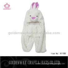 Взрослый кролик из искусственной меха Hat A1108