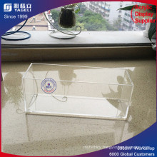 Clear Perspex Acrylic Make up Brush Holder