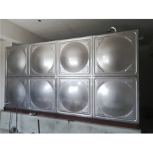 Silver Color Light Weight Tank Container Stainless Steel Water Panel Tank