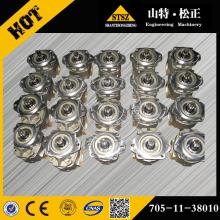 Komatsu bulldozer parts pump 705-11-38010 for D65P-12