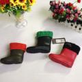 Cheap Transparent PVC Garden Rain Boot for Children, Boot with Warmer Liner