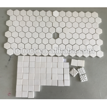 Alumina/ Al2O3 / Zirconia Hexagon ceramic tile brick