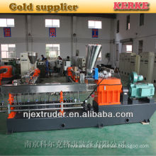 High Quality co-rotating parallel twin screw extruder for caco3 filler masterbatch/color filler