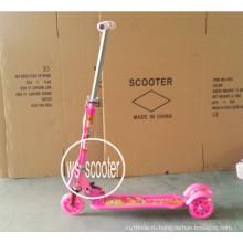 Alu Wider Deck 3-х колесный самокат / ножной скутер / детский скутер Et-Ks3001 Kick Scooter