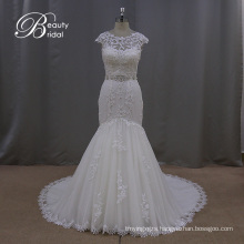 Guangzhou Mermaid Bridal Dress Beaded Sash