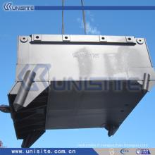 Boîte d'ancrage en acier avec blocs de ballast (USC-10-011)