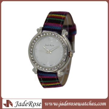 2015 Fashion Design Leather Watch with Factory
