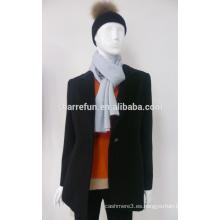 Forme a señoras el abrigo de invierno hecho punto de la cachemira para la venta