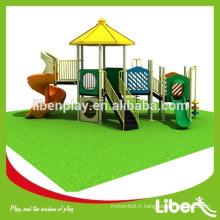 Rencontrez l'équipement de jeu en plein air pré-scolaire ASTM pour le divertissement